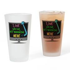 social2 Drinking Glass