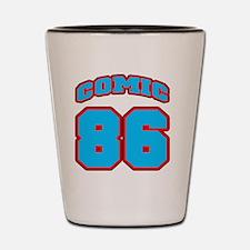 NUMBERbaseball Shot Glass