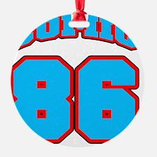 NUMBERbaseball Ornament