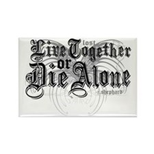 lost-livetogether-lights Rectangle Magnet