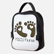 NICU Nurse 3 Neoprene Lunch Bag