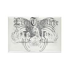 lost-livetogether-black Rectangle Magnet