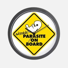 Parasite On Board Wall Clock