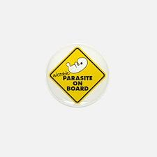Parasite On Board Mini Button