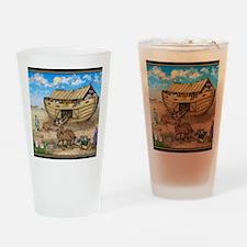 noahs ark cafe press Drinking Glass