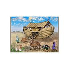 noahs ark cafe press 5'x7'Area Rug