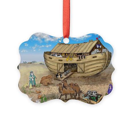 noahs ark cafe press Picture Ornament