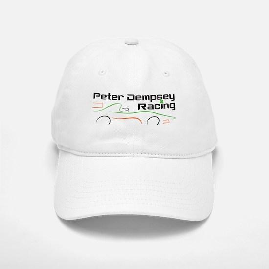 Peter Dempsey Racing Baseball Hat (White)