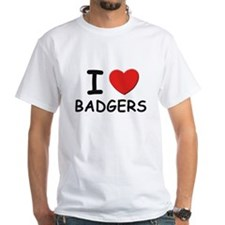 I love badgers Shirt