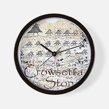 Crowzetta 10x10 Apparel Template Wall Clock