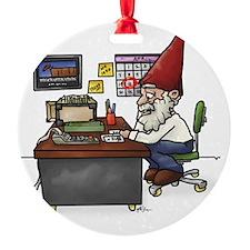 Tax Gnome.Cut Ornament