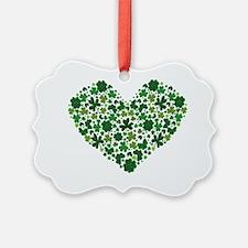 2-heartclover Ornament