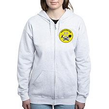 NEWrockhound-sticker Zip Hoodie