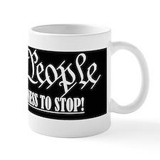 WTP stop the madness (blackwhite) Mug