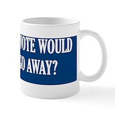 if we did not vote (bumper) Mug
