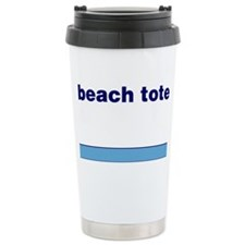 Generic-Beach-Tote Travel Coffee Mug