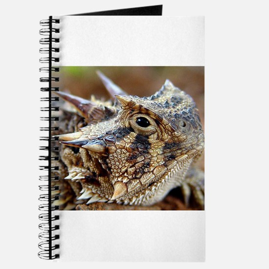 Cute Horny toad Journal