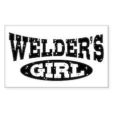 Welder's Girl Decal