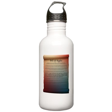 bill of rights_1 Stainless Water Bottle 1.0L