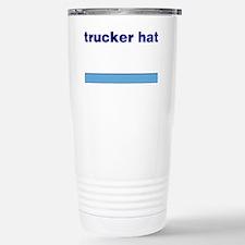 Generic-Trucker-Hat Travel Mug