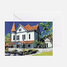 Christian House by RD Riccoboni Greeting Card