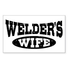 Welder's Wife Decal