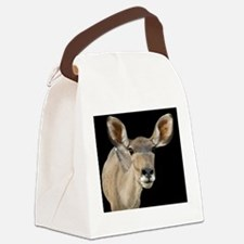 (6) kudu ears 2 Canvas Lunch Bag