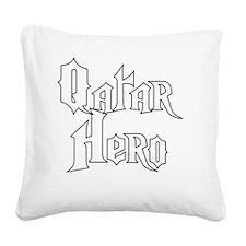 5-qatar hero Square Canvas Pillow
