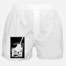 whiskey glass-WonB Boxer Shorts