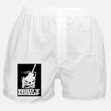 whiskey glass mousepad Boxer Shorts