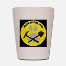 bkNEWrockhound-sticker Shot Glass
