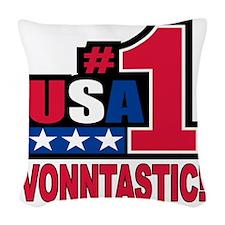 vonntastic Woven Throw Pillow