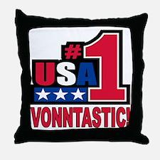 vonntastic Throw Pillow