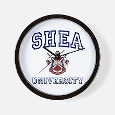 SHEA University Wall Clock