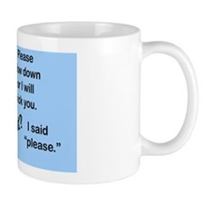 kick_wall_peel Mug