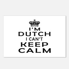 I Am Dutch I Can Not Keep Calm Postcards (Package