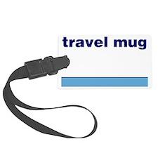 Generic-Travel-Mug Luggage Tag