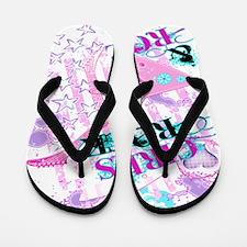 Girls Rock Flip Flops