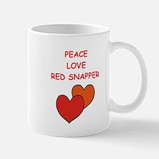 red snapper Mugs