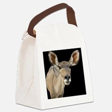 (3) kudu ears 2 Canvas Lunch Bag