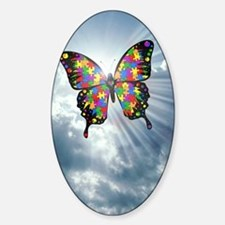 autismbutterfly - sky journal Decal