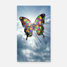 autismbutterfly - sky journal Rectangle Car Magnet
