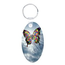 autismbutterfly - sky journ Keychains