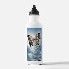 autismbutterfly - sky  Water Bottle