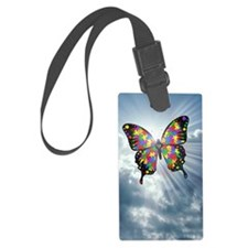 autismbutterfly - sky journal Luggage Tag