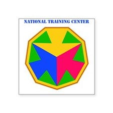 "SSI - National Training Cen Square Sticker 3"" x 3"""