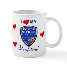 Police Boyfriend Small Mug