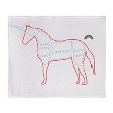 unicorn_cafepress Throw Blanket