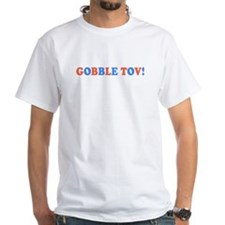 Gobble Tov! [text] T-Shirt