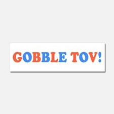 Gobble Tov! [text] Car Magnet 10 x 3